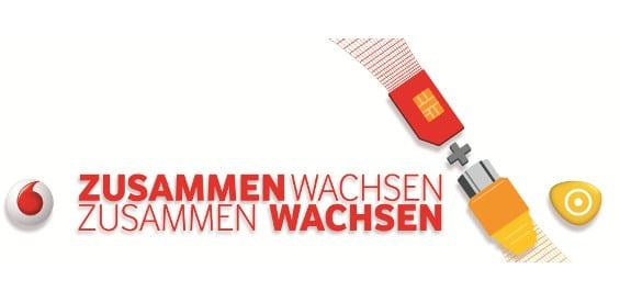 Kabelanschluss Vodafone Kabel Deutschland mit Personen