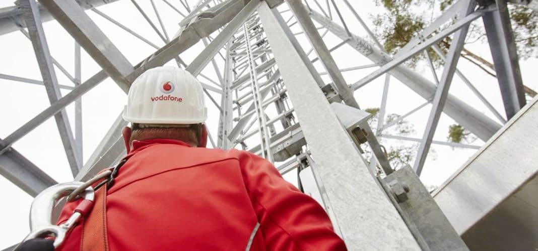 Vodafone Netzausbau Symbolbild