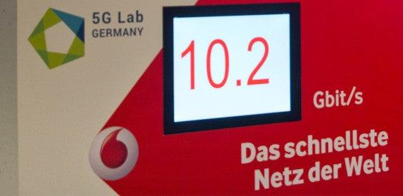 Vodafone präsentiert 5G auf der CeBIT