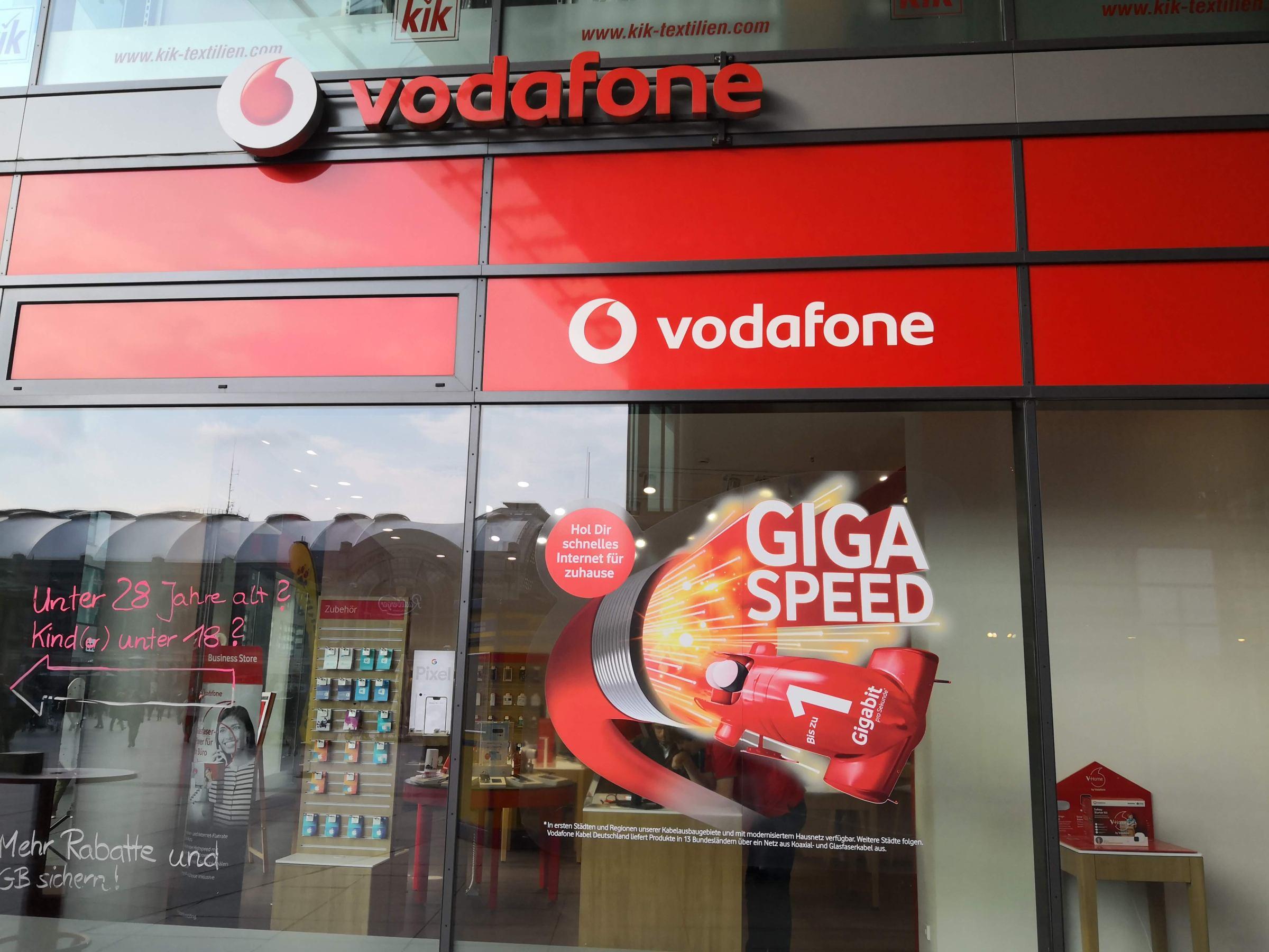Vodafone-Shop in Dresden