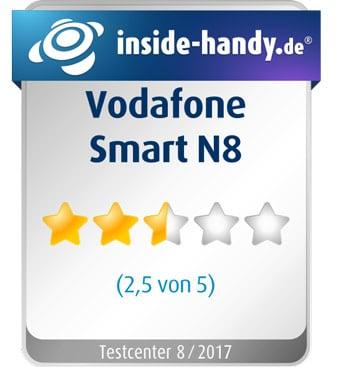 Vodafone Smart N8 im Test: 2,5 von 5 Sternen