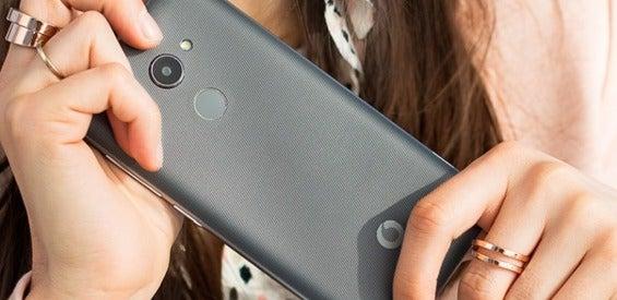 Vodafone Smart N8 Rückseiten-Aufnahme
