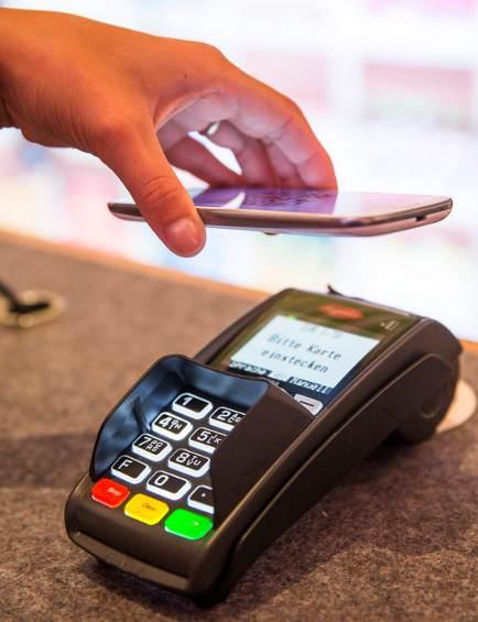 Vodafone Wallet & SmartPass: Bezahlen am NFC-Terminal
