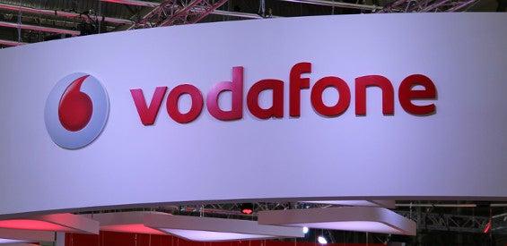 Vodafone-Logo MWC-Stand