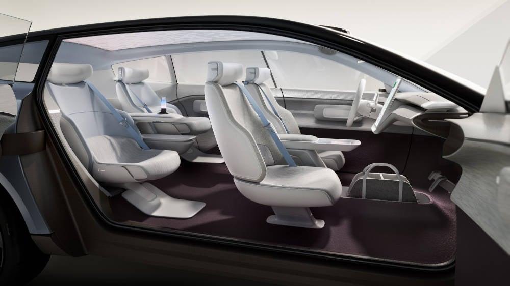 Volvo Concept Recharge Innenraum