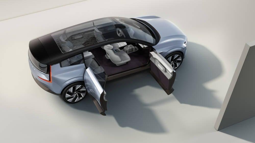 Volvo Concept Recharge Seitenansicht