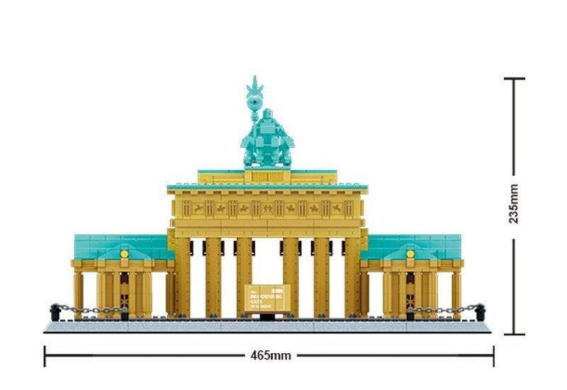 Wange Brandenburger Tor