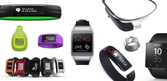 Wearable-Vielfalt: Smartwatches, Armbänder, Brillen, Ringe und Clips