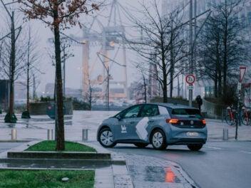 WeShare Auto in Hamburg am Hafen