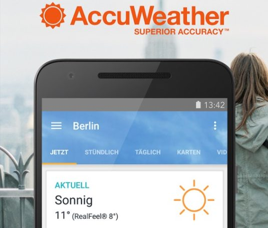 Wetter-App AccuWeather