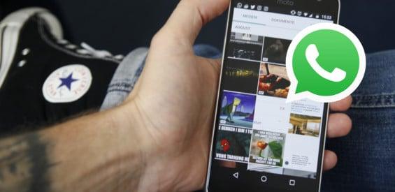 WhatsApp Bilder und Videos schneller finden