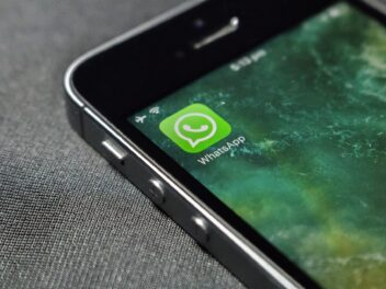 WhatsApp-Icon auf dem iPhone