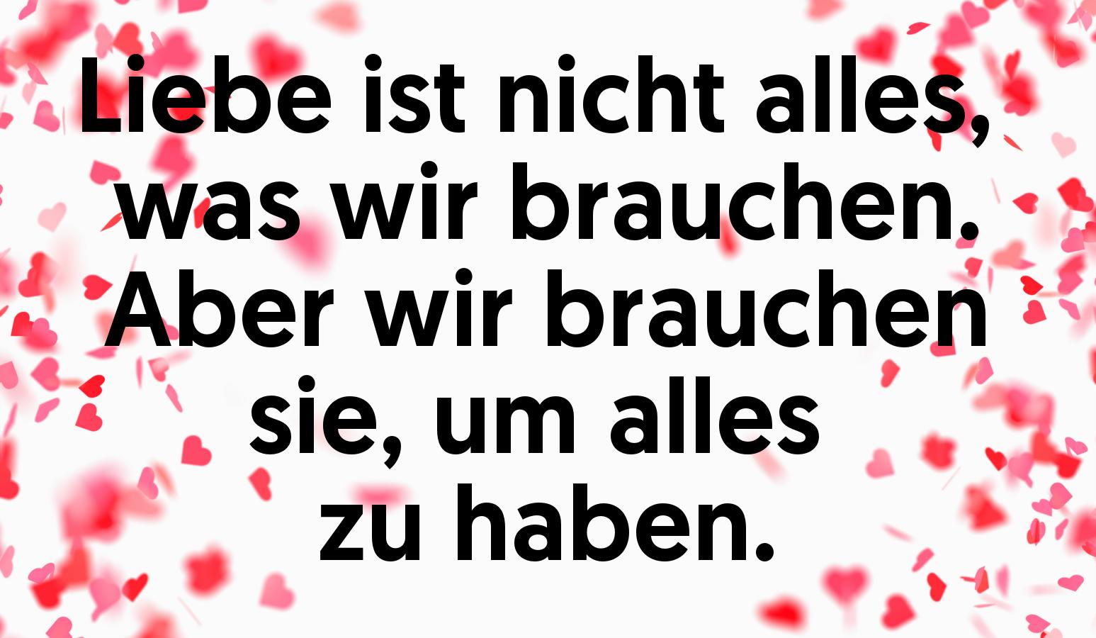Valentinstag braucht man nicht