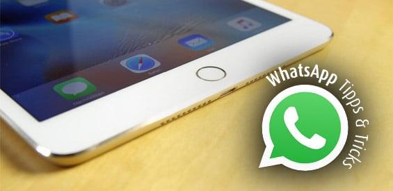 WhatsApp auf iPads und Android-Tablets