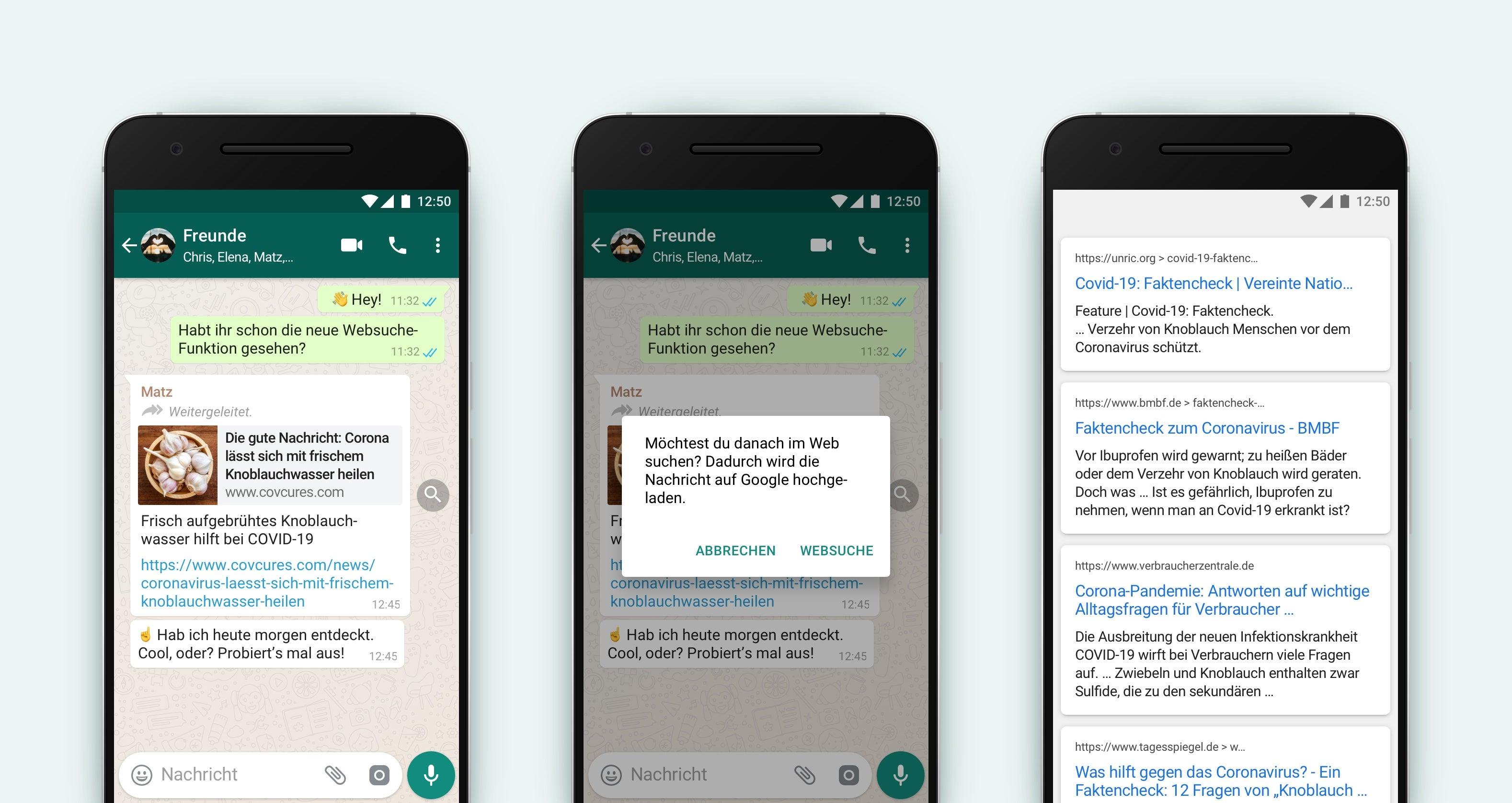 Whatsapp führt neue Funktion ein