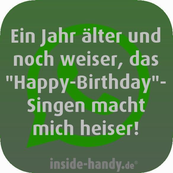 WhatsApp-Geburtstagssprüche