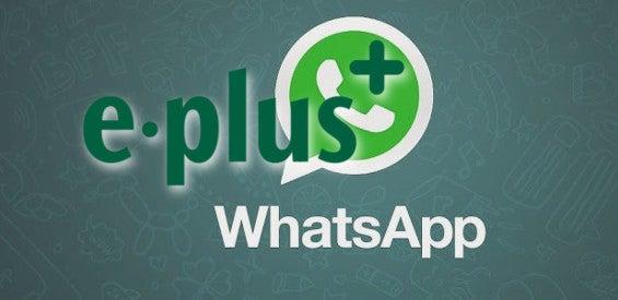 WhatsApp-Tarif von E-Plus