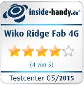 Wiko Ridge Fab 4G Testsiegel