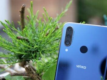 Kamera des Wiko View3 Pro
