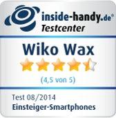 Wiko Wax Testsiegel