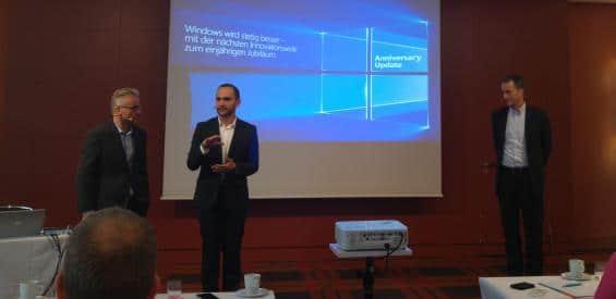 WIndows 10 Anniversary Update Präsentation