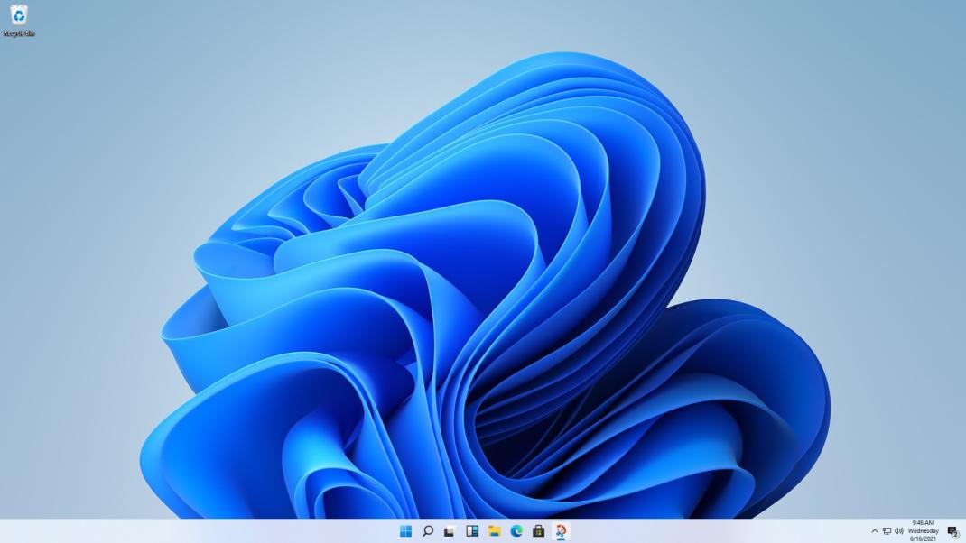 Der Desktop unter Windows 11