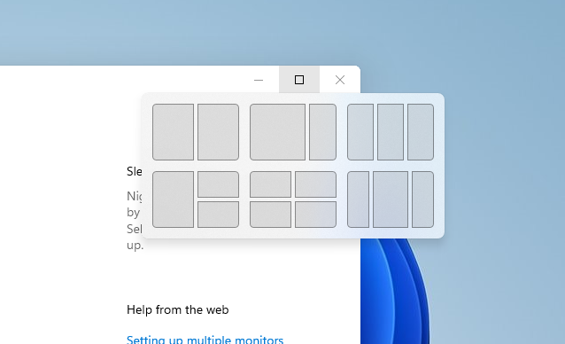 Das Fenstermanagement in Windows 11