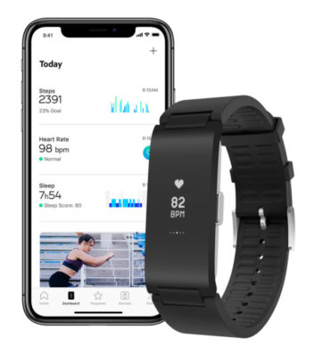 Withings Pure HR mit der Health Mate App