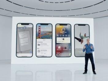 Apples Craig Federighi präsentiert iOS 15