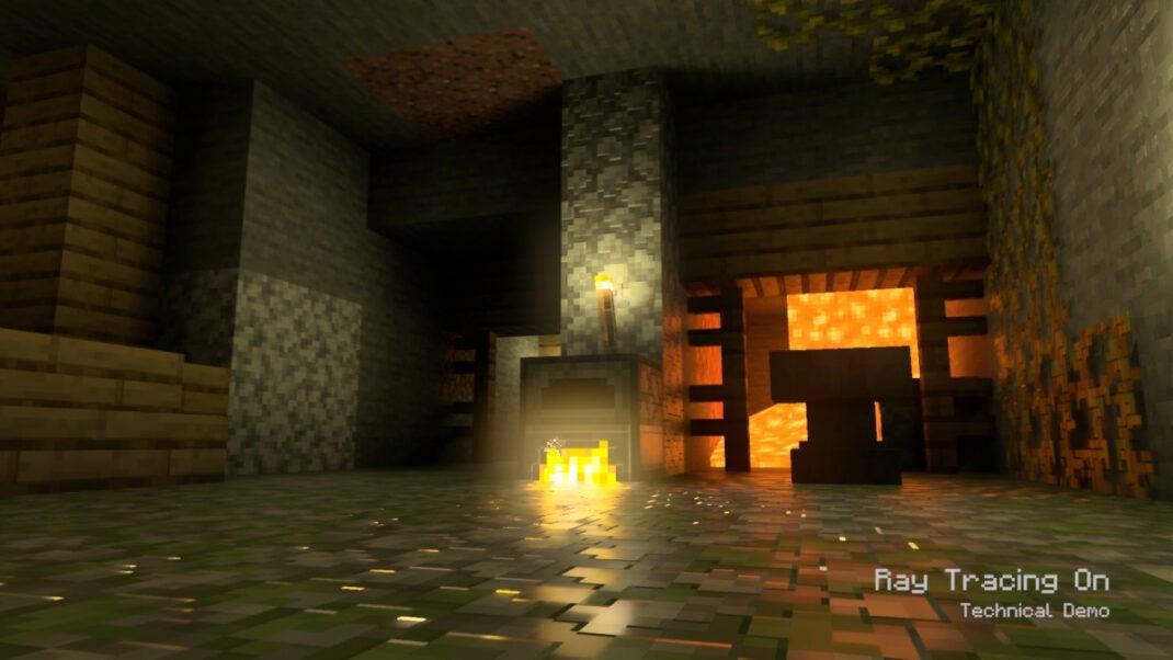 Minecraft auf der Xbox Series X mit Raytracing