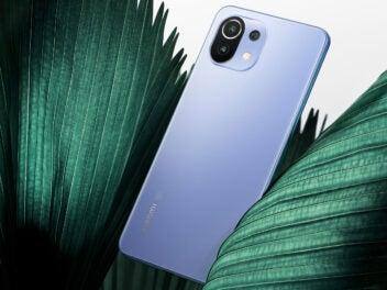 Xiaomi 11 lite 5G Ne Produktbild der blauen Version