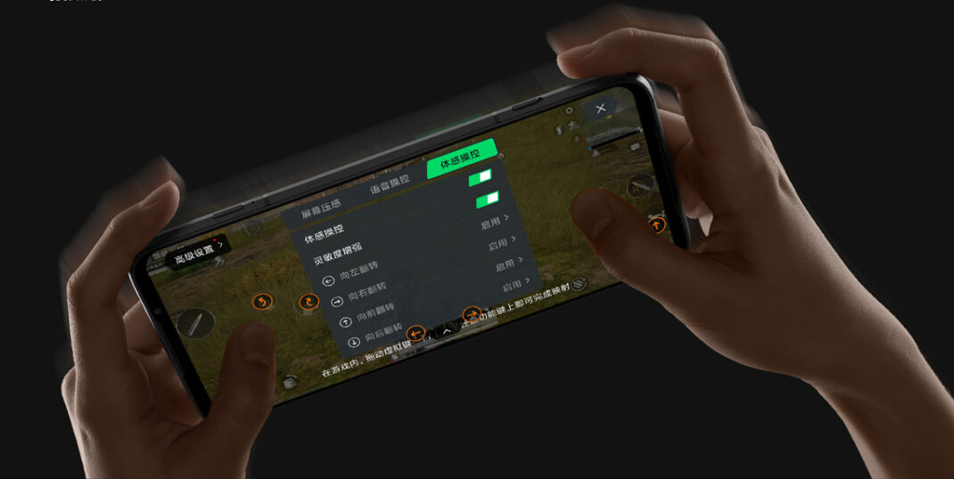 Xiaomi Black Shark 3S Schultertaser