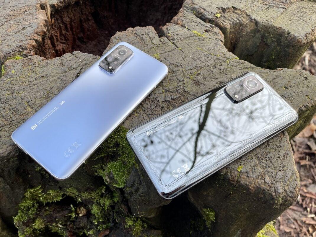 Die beiden Farben des Xiaomi Mi 10T Pro im Vergleich