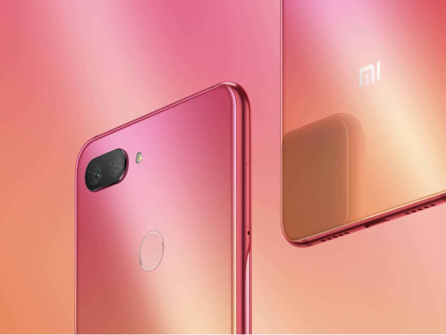 Xiaomi Mi 8 Youth von vorn und hinten