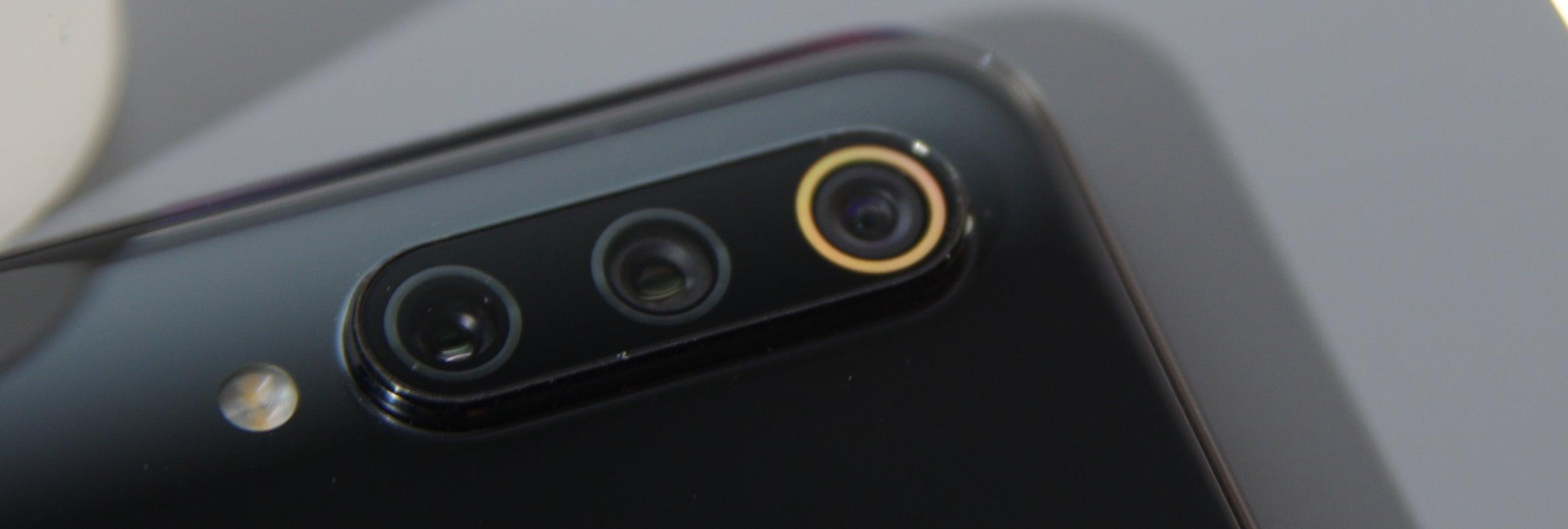LED-Leuchte an der Kamera des Xiaomi Mi 9