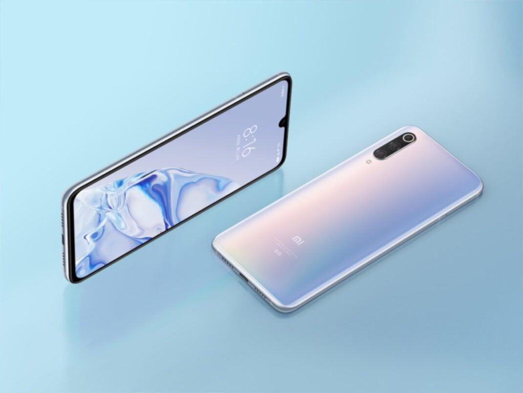 Xiaomi Mi 9 Pro 5G in der Farbe Weiß