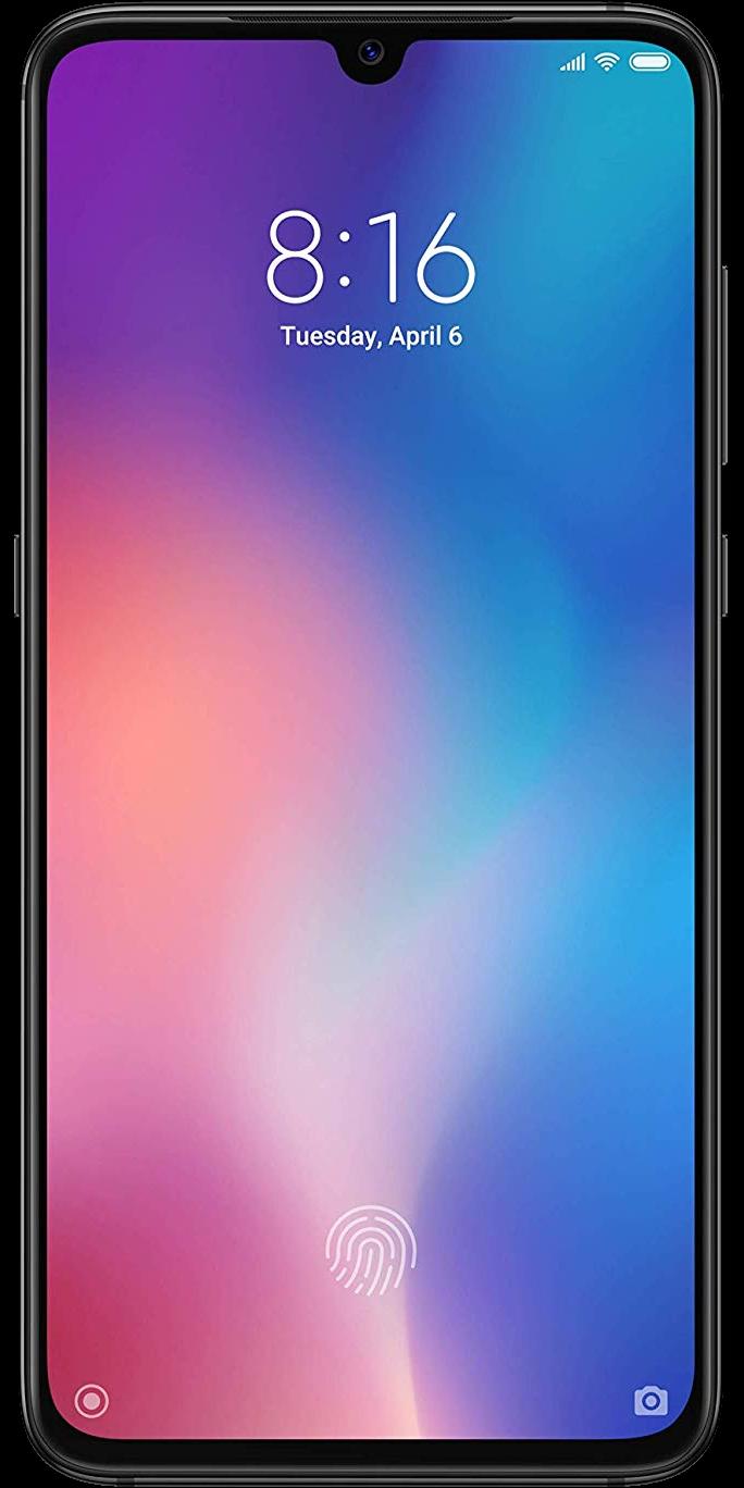 Das Pressebild zum Xiaomi Mi 9 in Schwarz.