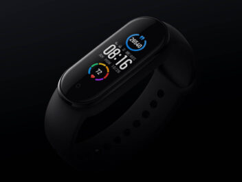 Xiaomi Mi Band 5 in schwarz