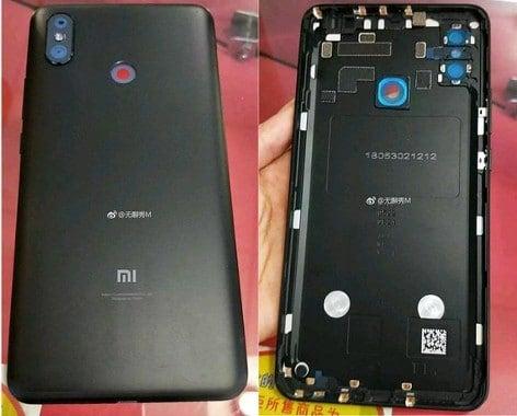 Xiaomi Mi MIX 3 Rückseite Gerücht