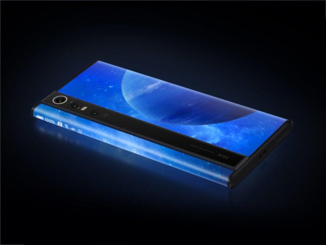 Xiaomi Mi Mix Alpha vorgestellt: Rückseite