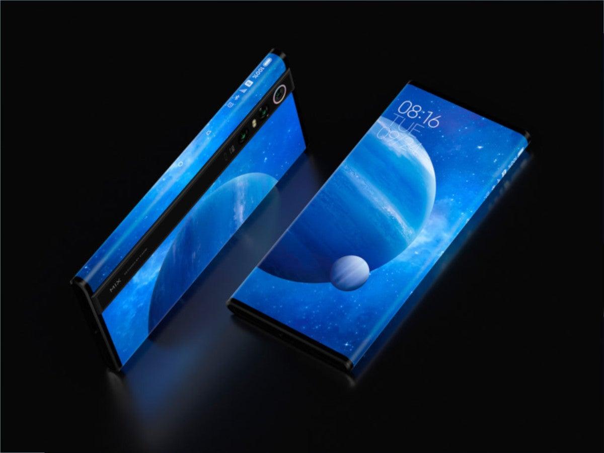 Xiaomi Mi Mix Alpha vorgestellt: Front und Rückseite