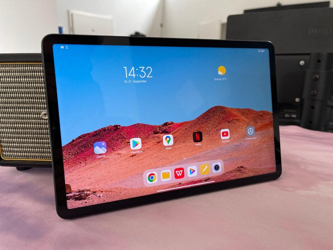 Das Display des Xiaomi Pad 5