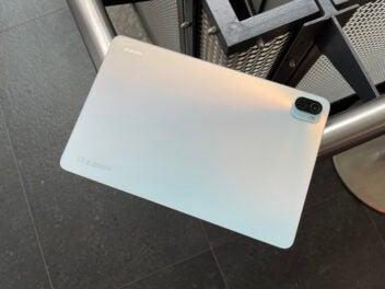 Das Xiaomi Pad 5 in Weiß