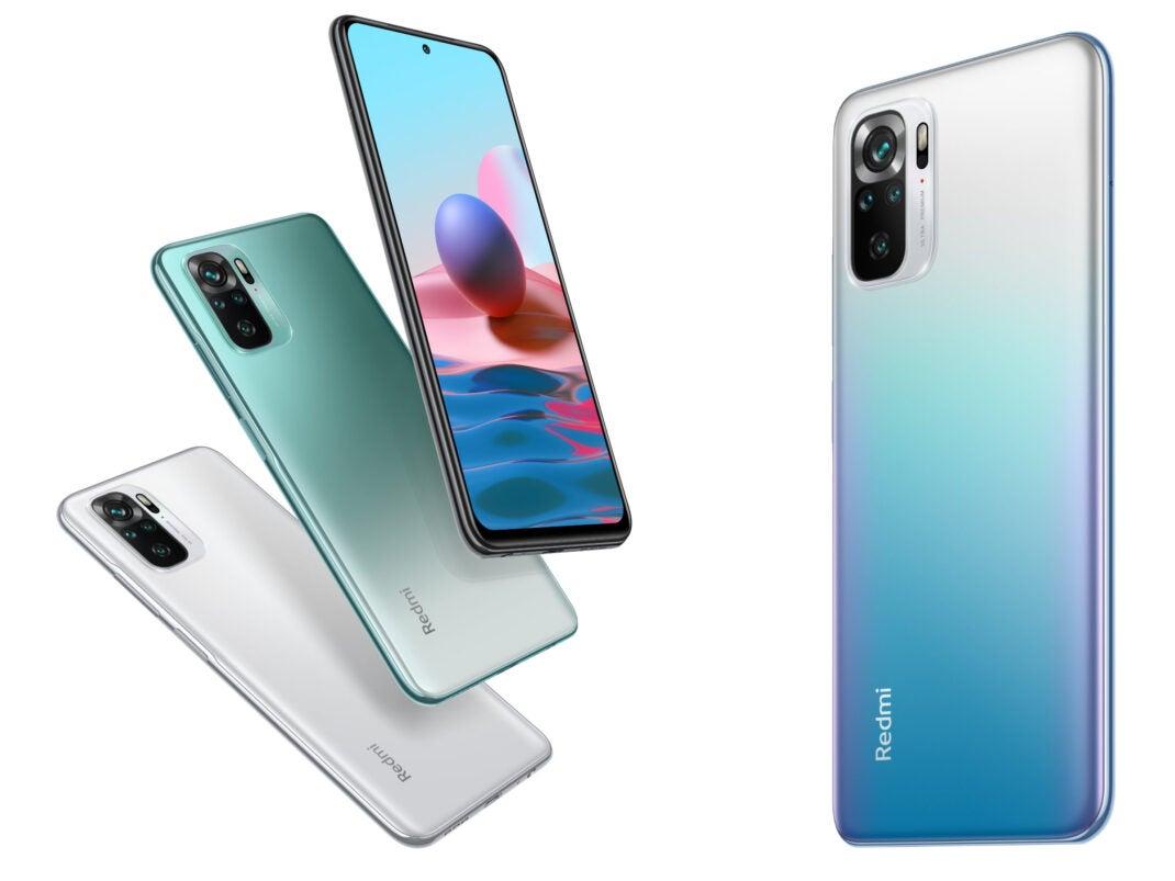 Xiaomi Redmi Note 10 und Note 10S alle Farben