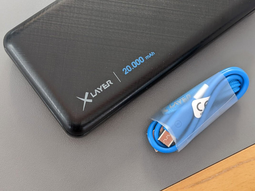 XLayer Micro Powerbank mit Kabel