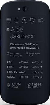 Yota YotaPhone 2 Datenblatt - Foto des Yota YotaPhone 2