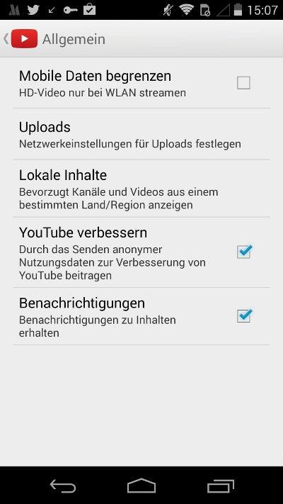 YouTube HD ausschalten