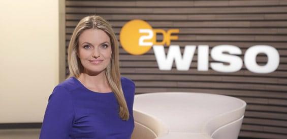 Sarah Tacke von ZDF WISO