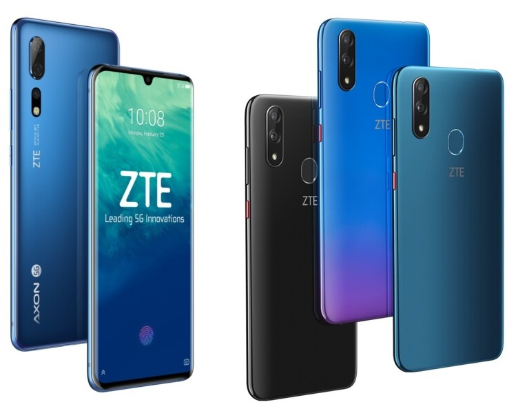 ZTE Smartphones vorgestellt